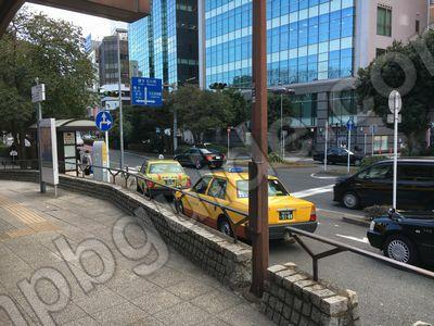 関内のタクシー乗り場
