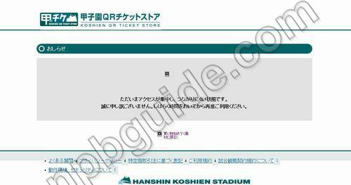 甲チケで阪神タイガースのチケット購入