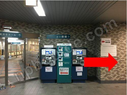日本大通り駅の地下