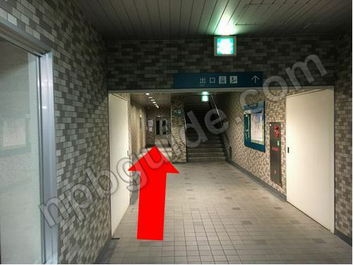 日本大通り駅のエレベーター
