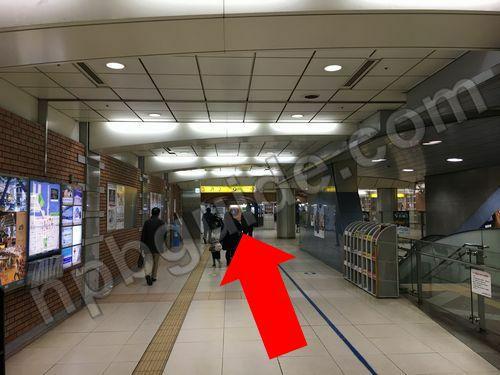 日本大通り駅の出口