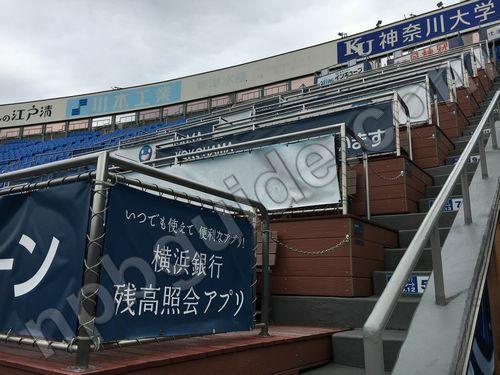 横浜銀行BOXシート