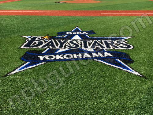 横浜スタジアムの人工芝