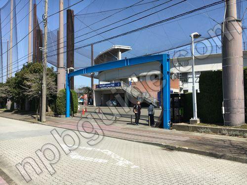 横須賀スタジアム入口