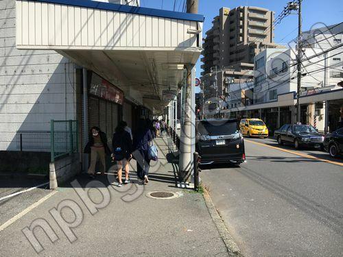 追浜駅前の商店街