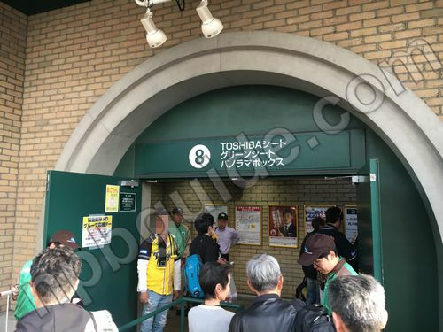 甲子園の入り口