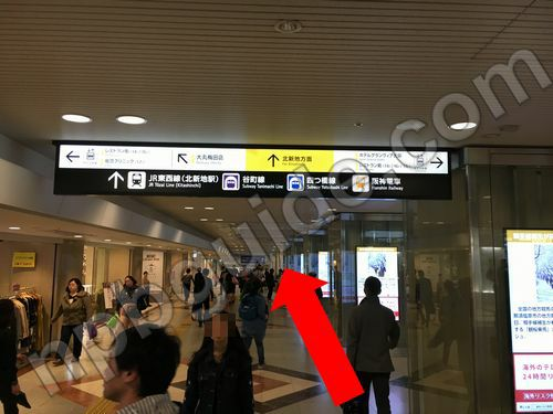 阪神電車の乗り場