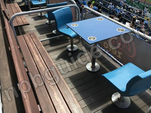 コカ・コーラピクニックボックスの座席