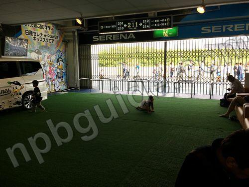 ZOZOマリンスタジアムの子供の遊び場
