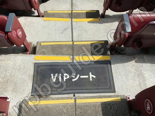 VIPシート1塁側