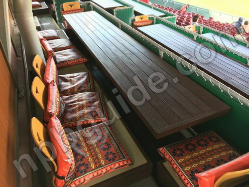 キリン生茶シート鯉桟敷の座席