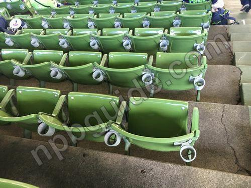 内野の座席