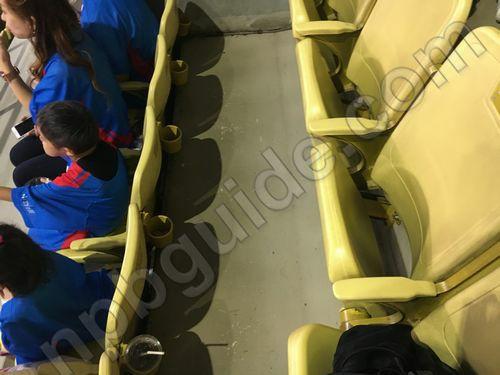 2階の座席