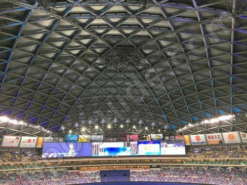 名古屋ドームの天井