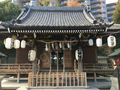 杉田八幡宮の門