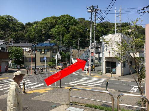 安針塚駅の交番