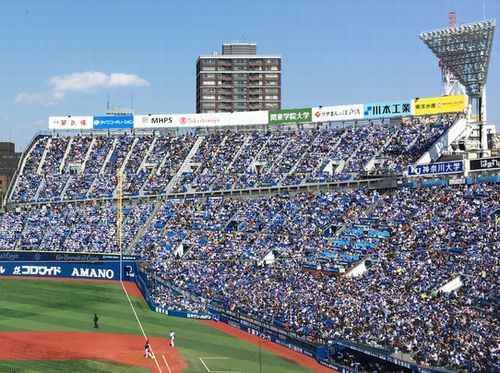横浜スタジアムのウイング席